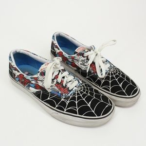 Marvel Comics Spiderman Vans